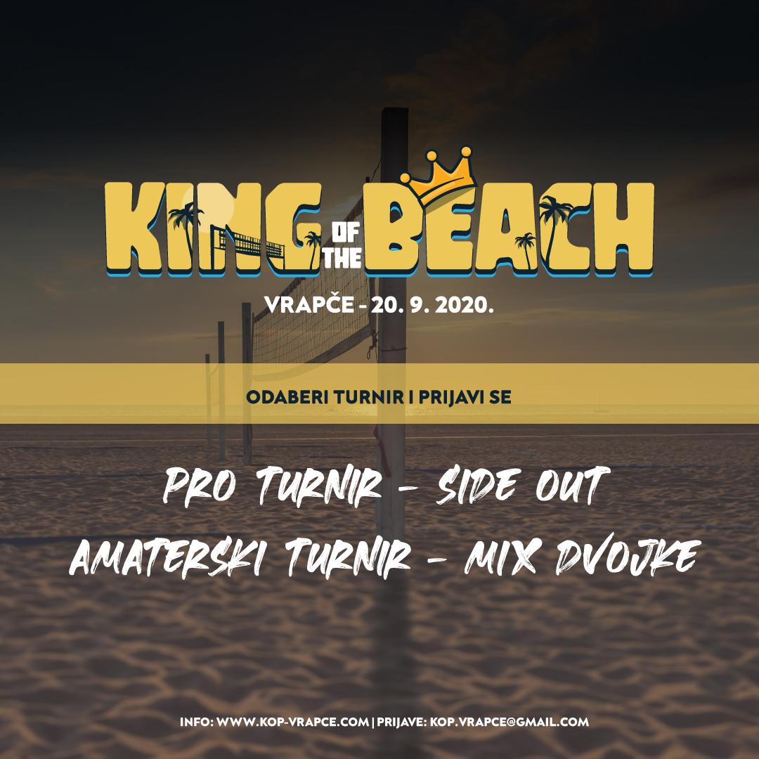 King of the Beach – dva turnira u jednom danu, jedan za profesionalce i jedan za rekreativce